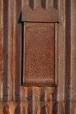 Closed rusty window Royalty Free Stock Photo