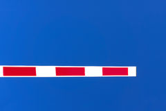 Closed security barrier Stock Images