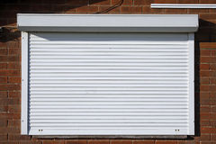 Free Closed Security Shutters Royalty Free Stock Images - 35647459
