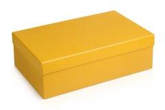 Closed shoe box Stock Image