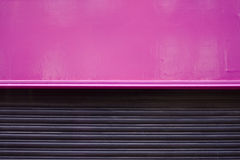 Shop shutters Stock Image