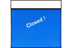 Closed shop Stock Images