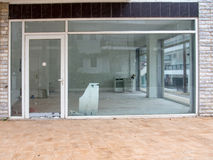 Closed shop. Run down shop closed for business Royalty Free Stock Image