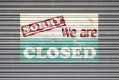 Closed Shop Sign Stock Photos
