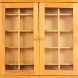 Closed showcase Stock Image