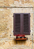 Closed Shutters Royalty Free Stock Photo