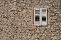 Closed shutters Royalty Free Stock Image