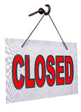 Closed sign Stock Images