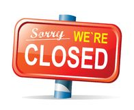 Free Closed Sign Stock Photos - 20676063