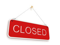 Closed sign Royalty Free Stock Photos