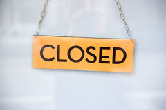 Closed Sign Royalty Free Stock Photo