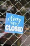 Closed Royalty Free Stock Photos