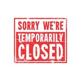 Closed Sign Logo. Close Stock Images