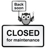 Closed Site Stock Images