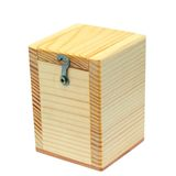 Small wooden box Royalty Free Stock Photo