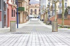 Closed street Stock Image