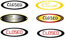 Closed subtitles with elliptical background Royalty Free Stock Photos