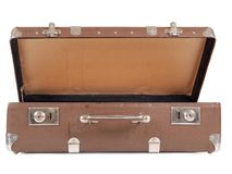 Closed suitcase Stock Image