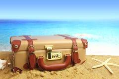 Closed suitcase Stock Image