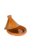 Opened tagine pot Royalty Free Stock Photography