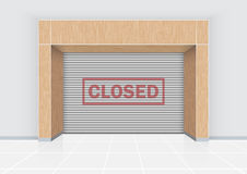 Closed text Royalty Free Stock Photos