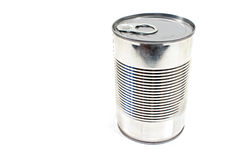 Closed tin can Stock Images