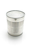 Closed tin can Royalty Free Stock Image