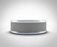 Closed tin can for your design Royalty Free Stock Photos