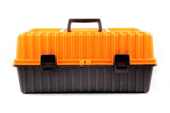 Closed toolbox isolated Royalty Free Stock Photos