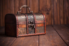 closed treasure chest Royalty Free Stock Images