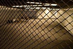 Closed underground station Royalty Free Stock Photos