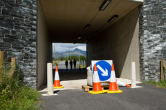 Closed underpass. Stock Photography