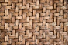 Closed up of brown color wooden weave textured background. Closed up of brown color wooden weave texture background Royalty Free Stock Photography