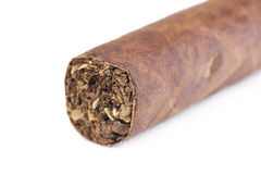 Closed up cigar Stock Photography