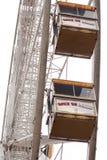 Closed up Ferris Wheel. Ferris Wheel in Lyon, France Stock Photo