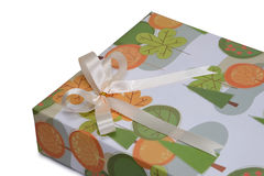 Closed up of gift box. Royalty Free Stock Photos
