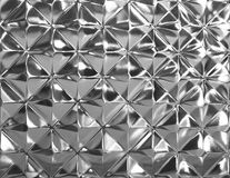 Closed up glass texture. Diamond shape Stock Images
