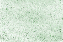 Closed up green mulberry paper with wood pulp background. Royalty Free Stock Photography
