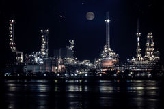 Closed up Oil refinery factory Royalty Free Stock Photography