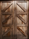 Closed up old wood door vintage style, background and texture. Closed up old wood door, vintage style, background and texture Royalty Free Stock Images