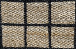 Closed Up of Paid Pattern of Basket Weave Texture Royalty Free Stock Image