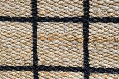 Closed Up of Paid Pattern of Basket Weave Texture Royalty Free Stock Photography