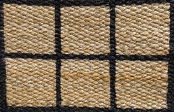 Closed Up of Paid Pattern of Basket Weave Texture Royalty Free Stock Images