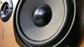 Closed Up Photography of Brown Wooden Framed Sony Speaker Stock Photo