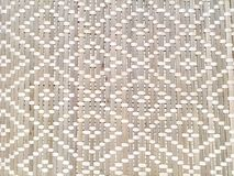 Closed Up of Rattan Texture of Basket Weave Pattern Royalty Free Stock Photo