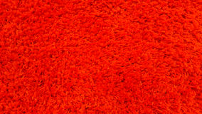 Closed up red carpet texture. Stock Photo