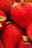 Closed up shot of ripe strawberries Stock Photos
