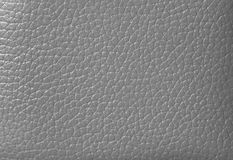 Closed up Silver Gray Colored Genuine Leather, for Background. Pattern Royalty Free Stock Images