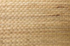Closed Up of Square Texture of Basket Weave Pattern. Background Pattern, Brown Handicraft Weave Texture Wicker Surface for Furniture Material Stock Photo