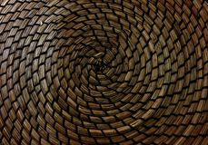 Closed up of Texture of Basket Weave Pattern Royalty Free Stock Images